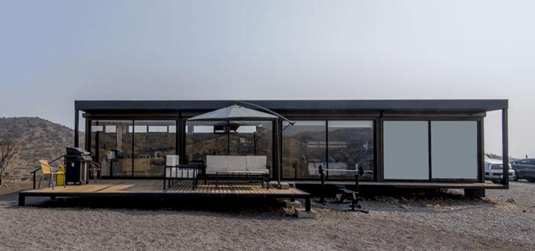 casa de container modelo c