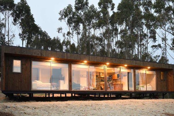 casa prefabricada lujo modelo b