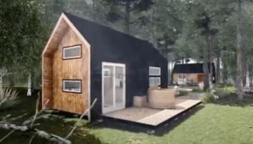 casa tiny house modelo b